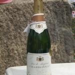 スパークリングワイン・・・名前は知りません。冷えていて美味しかったです(^o^)/